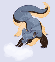 dumb smoky critter by VCR-WOLFE
