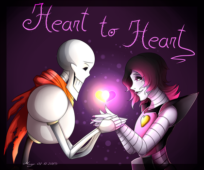 Heart To Heart by LethalAuroraMage