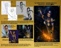 Tomb Raider Contest Entry talk through by G0DESIGNS