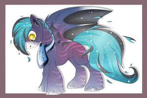 Oriental bat pony [AUCTION] points/paypal [CLOSED] by BlackFreya