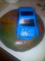 Car Cake Frontside by KMKramer44