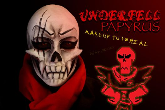 Underfell Papyrus Makeup Tutorial by MylCreates