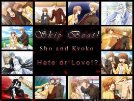 Skip Beat - Hate or Love by Silver-Nightfox