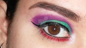 The Little Mermaid Ariel inspired eyes by J-SFX-Makeup