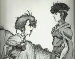 Shiris and Orson - Record of Lodoss War by TalentlessHacked