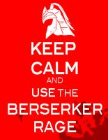 keep calm and use berserker rage by LaDarkA117