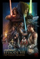 STAR WARS: The Force Awakens by sXeven