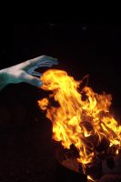 I Touch the Fire and It Freezes Me by tothethirdbar