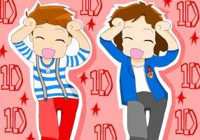 One Direction Larry Caramelldansen by OneDirectionFanJohn