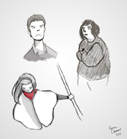 Some Sketches by KrulMagus