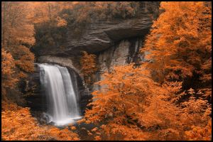 Falls In Fall by grandagon
