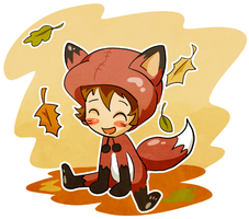 Cute Foxy Chibi Me by Arkham-Insanity