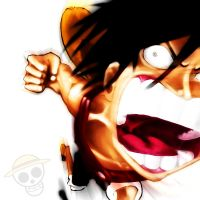 Luffy very Angry - One Piece by Gandaresh