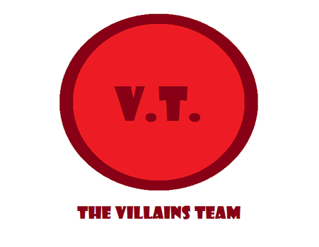 The Villains Team logo 2.0 by Jared1994