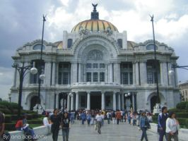 Palacio de Bellas Artes by Boa-Morte