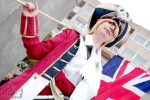 Hetalia ( Arthur Kirkland Pirate Version) by Op-2