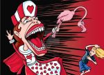 Queen of Hearts by showe