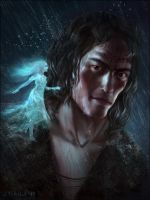 Kaladin and Syl (Stormlight Archive Series) by Lyraina