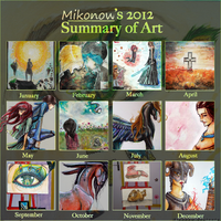 Summary 2012 - Traditional Art by Mikonow