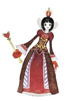The queen of hearts by MisterChatNoir