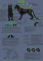 Podcat Species Sheet 1 of 2 by CunningFox