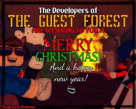The Guest forest wishes you a: by SteampunkerDragon