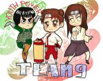 chibi team 9 by yuipo