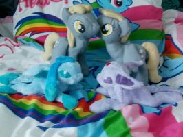 Plushies for sale!! by DappleHeartPlush