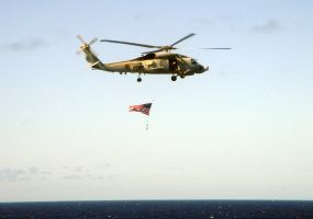 HS-2 American Flag Flyby by BBMacToma