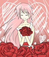 Surrounded by the Roses by HawkStripeh