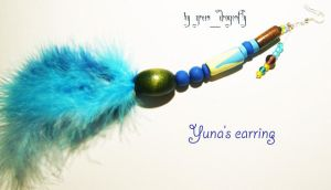 yuna's earring by dragonflyme