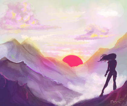 Landscape practice #1 by Uber-Mouse