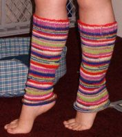 Striped Legwarmers by colormist