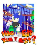 sonic spinball coaster by sapphii