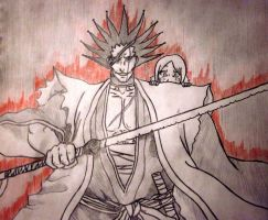Kenpachi from Zarake by ReaperJivid