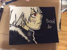 Soul Evans painting by SoulEaterLover123123
