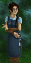 Character Render: Ella by TehPickle