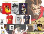 Dragon Ball t-shirts by orco05