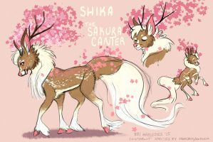 MYO Canterwit Contest Entry: Shika by BriMercedes