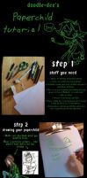 Paperchild Tutorial by doodle-dee