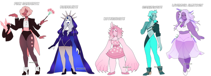 Gem Adopts, lowered price [CLOSED] by SnazzySuit