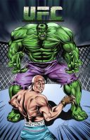 Hulk vs Couture by MAUZIS
