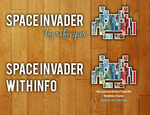 Space Invader for Covergloobus by rafeviper