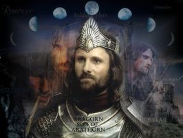 the many names of Aragorn by tempus-allegro