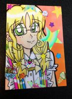ACEO Gift: Confectionist Vanilla by YuniNaoki