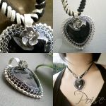 Heart of Stone Pendant by popnicute