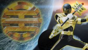 Gold Ranger PSP Wallpaper by MegaRed