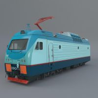 Train 2ec4k ( 3d object ) by viiik33