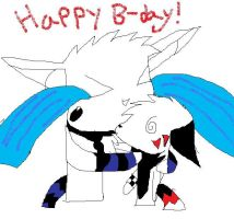 Happy B-day Tai by TheCuriousFox