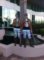SNK cosplay by Akadafeathers
